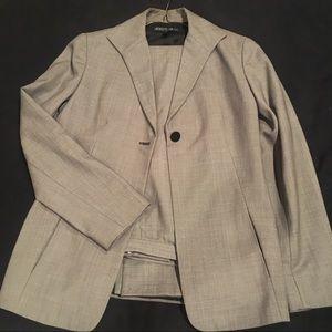 Lafayette 148 Grey Pantsuit